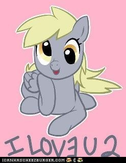 Love You Too, Derpy!