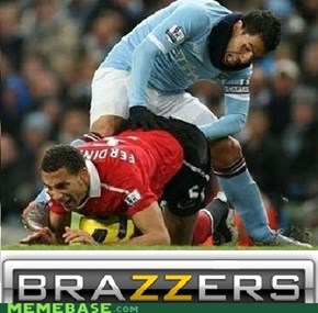 Tevez Getting the.... Balls?