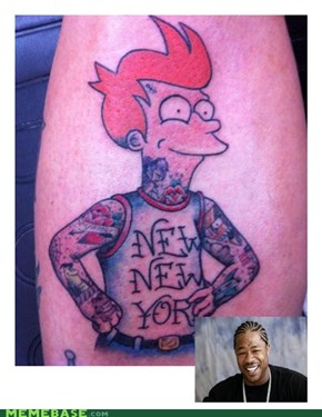 Yo dawg, I heard you like tattoos