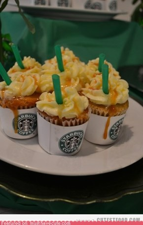 frappucino cupcake
