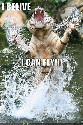 I BELIVE  I CAN FLY!!!