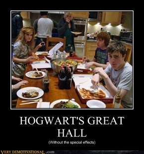 HOGWART'S GREAT HALL