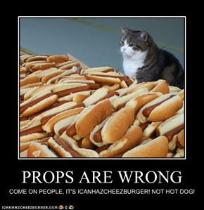 PROPS ARE WRONG