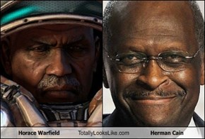 Horace Warfield Totally Looks Like Herman Cain
