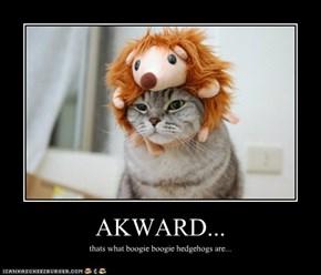AKWARD...