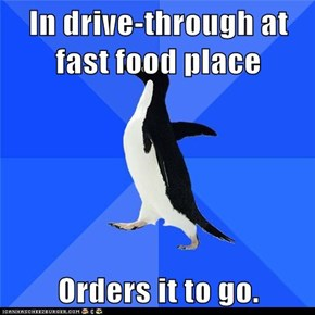 Socially Awkward Penguin: Well Duh...