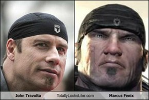 John Travolta Totally Looks Like Marcus Fenix