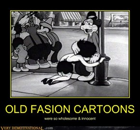 OLD FASION CARTOONS