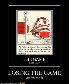 LOSING THE GAME