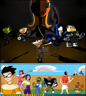 Phineas and Ferb Vs. Teen Titans