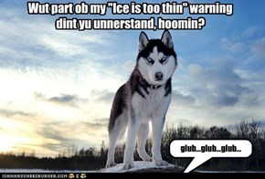 Dat looks cold...is it?