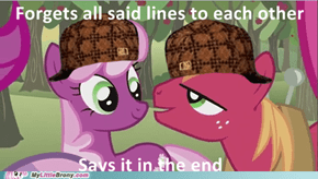 Scumbag Cheerilee and Big Macintosh