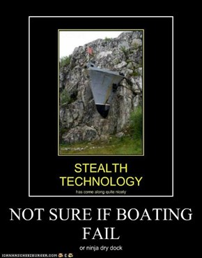 NOT SURE IF BOATING FAIL