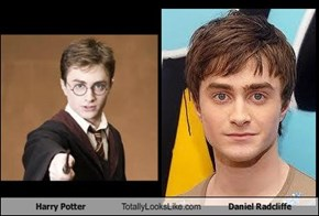 Harry Potter Totally Looks Like Daniel Radcliffe