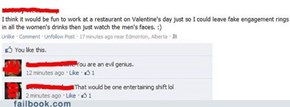A Valentine's Day Prank