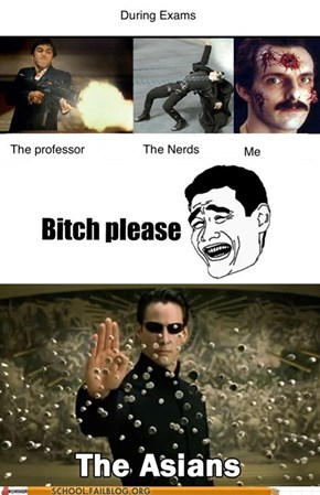 Just Because They Study Doesn't Mean They Have Superpowers
