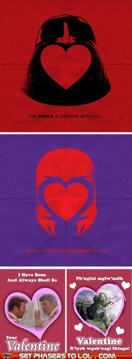 More Sci-Fi Valentines