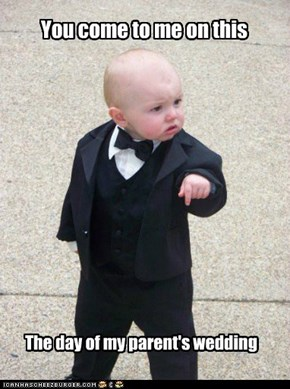 Godfather Baby: a meme you can't refuse