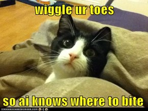wiggle ur toes