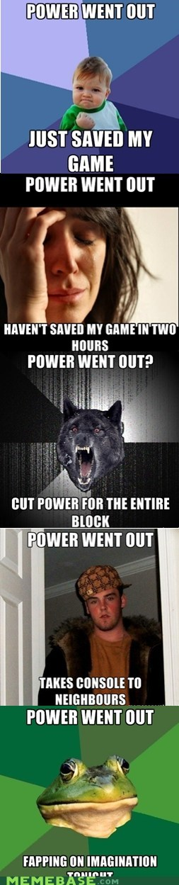 When the Power Goes Out