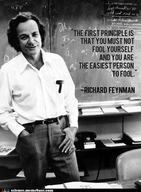 Feynman Is a Tricky Devil