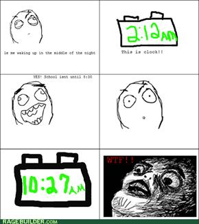late night rage