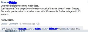 Football vs. Musical Theater