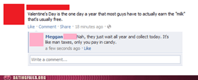 Valentine's Day is just sneaky taxes