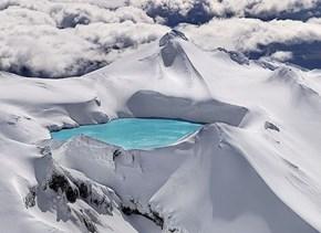 Emerald Lake, Tongariro National Park, New Zealand