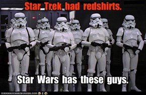 Star Trek Had Red Shirts