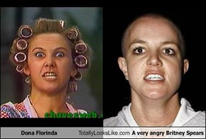 Dona Florinda Totally Looks Like A Very Angry Britney Spears
