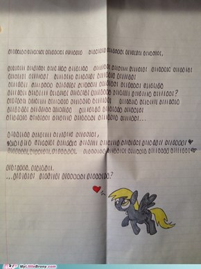 Best Hearts and Hooves Day Letter EVER