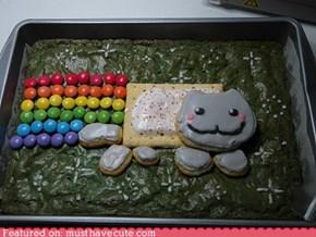 Nyan Cat Cake!