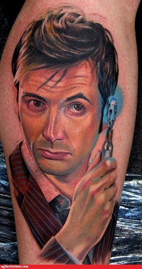 Tattoo WIN: Trust Me, I'm the Doctor