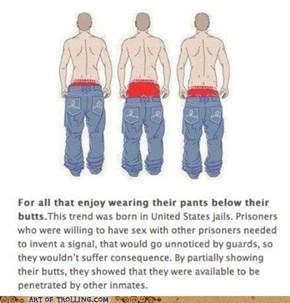Do Your Pants Hang Low?