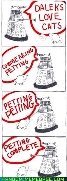 Daleks Appreciate Stubbornness