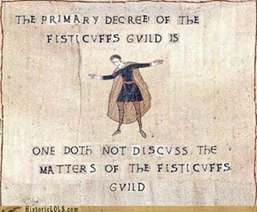 Thy First Rule of The Fisticuffs Guild