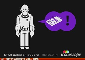 Return of the Jedi Retold in Icons