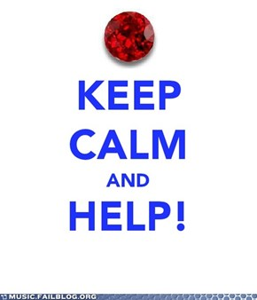 Keep Calm and HELP!
