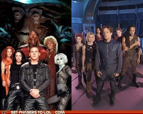Battle of the Cancelled: Farscape Vs. Andromeda