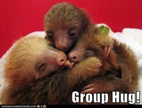 I Want to Be a Part of This Group Hug!!