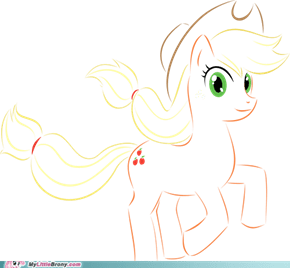 Applejack (vector drawing)