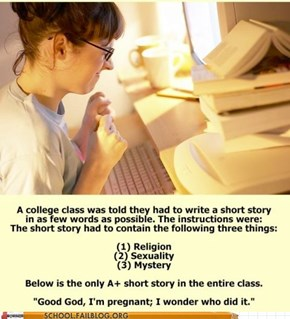 School of Fail: Writing Class Win