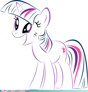 Twilight Sparkle (vector drawing)