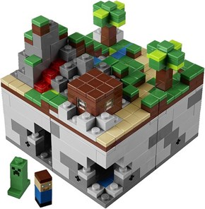 Minecraft Lego Announcement of the Day