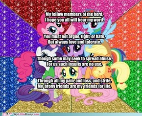 The brony creed