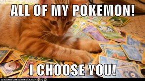 ALL OF MY POKEMON!  I CHOOSE YOU!