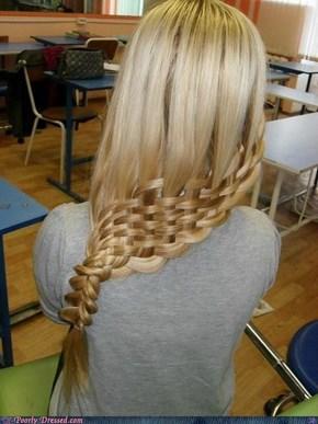 Waffle Hair
