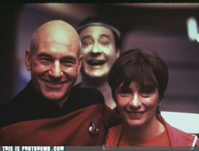 Star Trek Photobomb