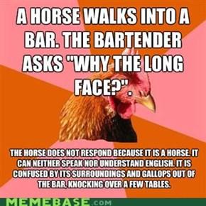 Anti-Joke Chicken: Sarah Jessica's Night Out